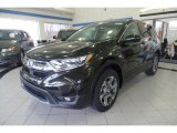 2017 Dark Olive Metallic Honda CR-V EX-L AWD #118505306