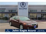 2010 Basque Red Pearl Acura TSX Sedan #118505239