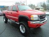 2005 GMC Sierra 2500HD Fire Red