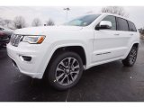 2017 Bright White Jeep Grand Cherokee Overland #118516635
