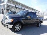2014 Tuxedo Black Ford F150 Lariat SuperCab 4x4 #118516674