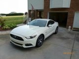 2015 50th Anniversary Wimbledon White Ford Mustang 50th Anniversary GT Coupe #118537948