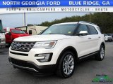 2017 White Platinum Ford Explorer Limited #118537946