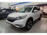 2016 White Diamond Pearl Honda CR-V Touring AWD #118538259