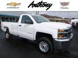 2017 Summit White Chevrolet Silverado 2500HD Work Truck Regular Cab 4x4 #118538363