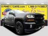 2017 Black Chevrolet Silverado 1500 LT Crew Cab 4x4 #118538019