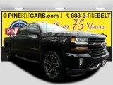 2017 Black Chevrolet Silverado 1500 LT Crew Cab 4x4 #118538011