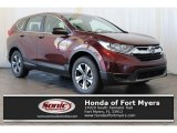 2017 Basque Red Pearl II Honda CR-V LX AWD #118565903