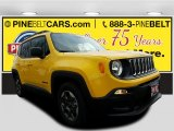 2017 Solar Yellow Jeep Renegade Sport #118565881