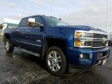 2017 Deep Ocean Blue Metallic Chevrolet Silverado 2500HD High Country Crew Cab 4x4 #118565878