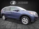 2014 Twilight Blue Metallic Honda CR-V EX-L AWD #118565916
