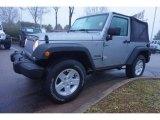 2017 Billet Silver Metallic Jeep Wrangler Sport 4x4 #118575448