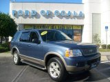 2003 Medium Wedgewood Blue Metallic Ford Explorer Eddie Bauer #1173432