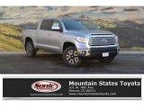 2017 Silver Sky Metallic Toyota Tundra Limited CrewMax 4x4 #118575391