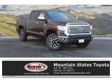 2017 Sunset Bronze Mica Toyota Tundra Limited CrewMax 4x4 #118575385