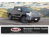 2017 Midnight Black Metallic Toyota Tundra Limited CrewMax 4x4 #118575384