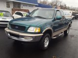 1997 Ford F150 XLT Extended Cab 4x4 Front 3/4 View