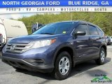 2012 Twilight Blue Metallic Honda CR-V LX #118575319
