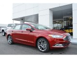 2017 Ruby Red Ford Fusion SE #118575465