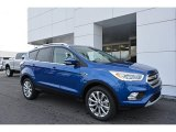 2017 Lightning Blue Ford Escape Titanium #118575464