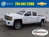 2017 Summit White Chevrolet Silverado 2500HD High Country Crew Cab 4x4 #118575573
