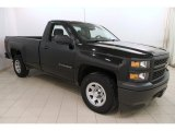 2014 Black Chevrolet Silverado 1500 WT Regular Cab #118602724
