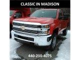 2017 Red Hot Chevrolet Silverado 2500HD Work Truck Regular Cab 4x4 #118602708