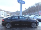 2017 Shadow Black Ford Fusion SE AWD #118602611