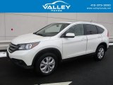 2014 White Diamond Pearl Honda CR-V EX AWD #118602211