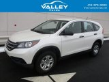 2014 White Diamond Pearl Honda CR-V LX AWD #118602209