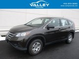 2014 Kona Coffee Metallic Honda CR-V LX AWD #118602208