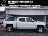 2017 Iridescent Pearl Tricoat Chevrolet Silverado 1500 LT Crew Cab 4x4 #118602305