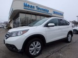 2014 White Diamond Pearl Honda CR-V EX-L AWD #118602601