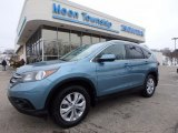 2014 Mountain Air Metallic Honda CR-V EX-L AWD #118602600