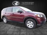 2012 Basque Red Pearl II Honda CR-V LX 4WD #118602291