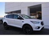2017 White Platinum Ford Escape SE #118602574