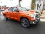 2017 Inferno Orange Toyota Tundra SR5 CrewMax 4x4 #118602435
