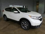 2017 White Diamond Pearl Honda CR-V EX AWD #118602423