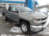 2017 Pepperdust Metallic Chevrolet Silverado 1500 LT Double Cab 4x4 #118653386
