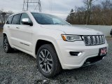 2017 Bright White Jeep Grand Cherokee Overland 4x4 #118653380
