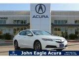 2017 Bellanova White Pearl Acura TLX V6 Technology Sedan #118667881
