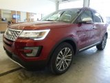 Ruby Red Ford Explorer in 2017