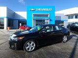 2010 Crystal Black Pearl Acura TSX Sedan #118668037
