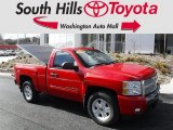 2010 Victory Red Chevrolet Silverado 1500 LT Regular Cab 4x4 #118667966