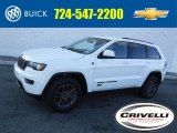 2017 Bright White Jeep Grand Cherokee 75th Annivesary Edition 4x4 #118668119
