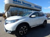 2017 White Diamond Pearl Honda CR-V Touring AWD #118668055