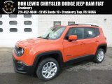 2017 Omaha Orange Jeep Renegade Latitude 4x4 #118667946