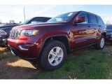 2017 Velvet Red Pearl Jeep Grand Cherokee Laredo #118667996