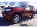 2017 Velvet Red Pearl Jeep Grand Cherokee Overland 4x4 #118667995