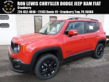 2017 Colorado Red Jeep Renegade Latitude 4x4 #118667943